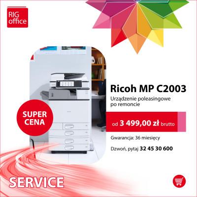Ricoh MP C2003 oraz MP C2503
