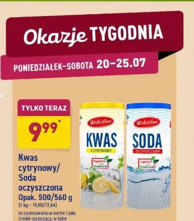 PROMOCJA W ALDI - KWAS I SODA