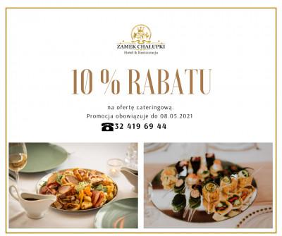 promocja na cateringi -10%